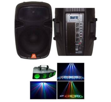 IPOD Party sound system with Disco Lights only $50 for weekend