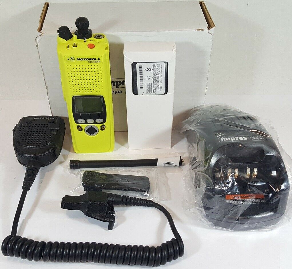 MOTOROLA XTS5000 VHF Smartzone P25 Digital Trunking Radio with UCM H18KEF9PW6AN. Buy it now for 349.00