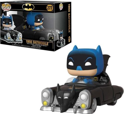 Batman 80th Pop Vinyl: 1950 Batmobile with Batman (schade...