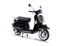 AJS MODENA 50CC SCOOTER MOPED, CLASSIC RETRO STYLE, 1 YEAR WARRANTY