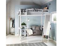 Ikea STORÅ Loft double-bed frame (mattress not included)