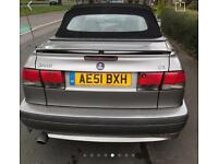 SAAB 93 CONVERTIBLE 12 MONTHS MOT EXCELLENT CONDITION IDEAL SUMMER CAR