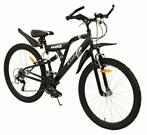 2Cycle Cobra MTB - 26 inch - 18-Speed - Mat-Zwart