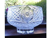 Tyrone Crystal Fruit Bowl