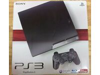 Sony Playstation 3 PS3 Slim 500GB Console Bundle 30 Games Boxed - Bluray Player