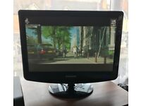 L@@K ONLY £60!! SAMSUNG FLAT SCREEN TV Fully Working! 19'' HDMI PC AUDIO SPEAKERS SCART Connections!