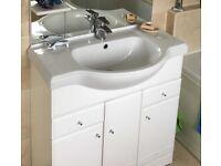 Ceramic Vanity Sink Top