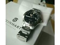 Steinhart GMT 'McQueen' automatic watch
