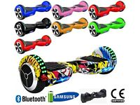 HOVERBOARD BLUETOOTH 6.5 inch SWEGWAY 2 WHEEL BALANCE BOARD SAMSUNG BATTERY CE