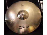 """Zildjian 18"""" Thin Crash - Brilliant Finish (Rare) 1980s"""