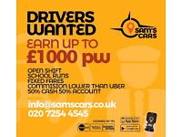 TFL/TPH PRIVATE HIRE DRIVERS URGENTLY REQUIRED FOR FRIENDLY PROFESSIONAL BUSY MINICAB OFFICE