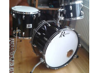 Rogers USA 'Big R' vintage 3-piece drum kit, XP-8 shells 13, 16, 24