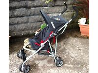 koochi pushchair complete with rain covers - excellant condition. Collection only