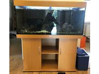 4ft Juwel Rio 300 Beech Marine Tropical Cold Water Fish Tank Aquarium setup (delivery installation)