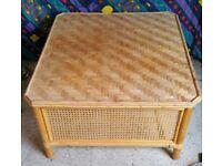 Rattan & Raw Cane Bespoke Coffee / Lounge Table
