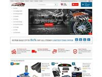 Car Parts and Car Accessories Dropshipping Business For Sale