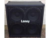 LANEY HCM 412A - 4x12 Angled Speaker Cab - 200w - 8ohm