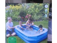 Family size pool new in box