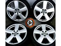 "18"" Genuine Audi RS6 alloys, matching premium General tyres"