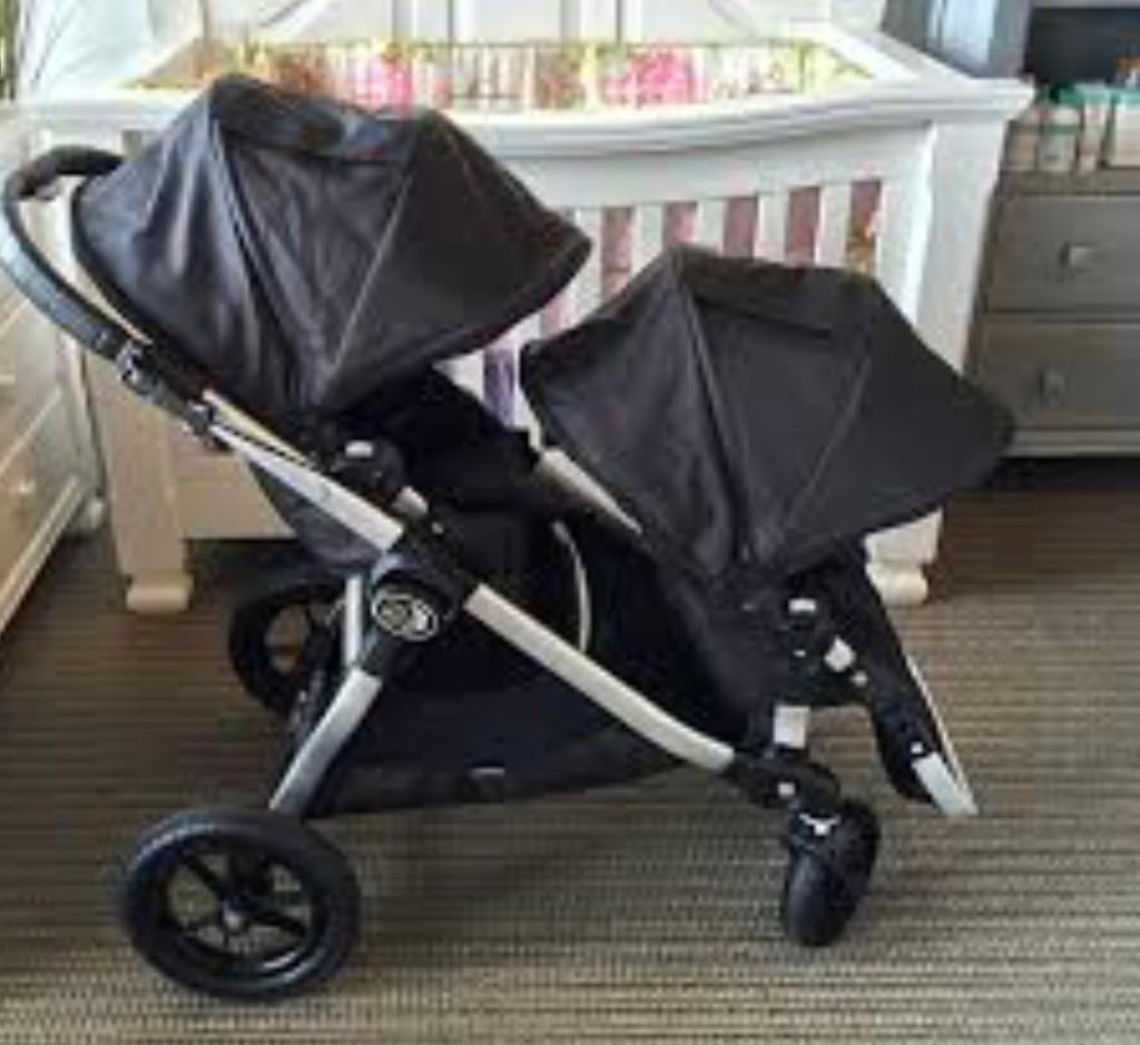 Baby Jogger City Select Twin Buggy Double Pushchair With Rain Cover Pram Stroller In Crystal Palace London Gumtree