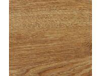 BRAND NEW 11 sq.m. 8mm v-groove rustic oak click system high grade laminate flooring