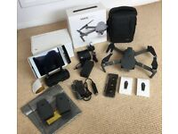 DJI Mavic Pro with iPAD, Fly More combo with 3 batteries & MORE