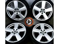 "18"" Genuine Audi RS6 alloys, matching premium General tyres."