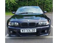 2004/54 BMW M3 SMG2 CONVERTIBLE ** PADDLE SHIFT **HUGE SPEC** FSH** FULL MOT ** M3 PLATE **