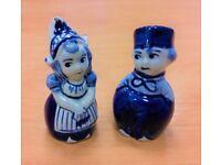 Salt & Pepper - Ceramic Boy & Girl, Excellent Condition, Bargain @ £5
