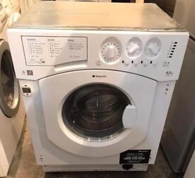 Like New Hotpoint BHWD129 Integrator Washer & Dryer (Fully Working & 4 Month Warranty)