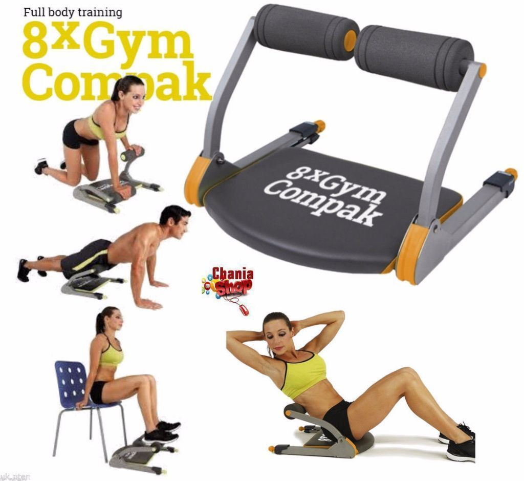 Fitness Equipment Yorkshire: 8x Gym Compak The Last Smart Total Body Gym The Ultimate