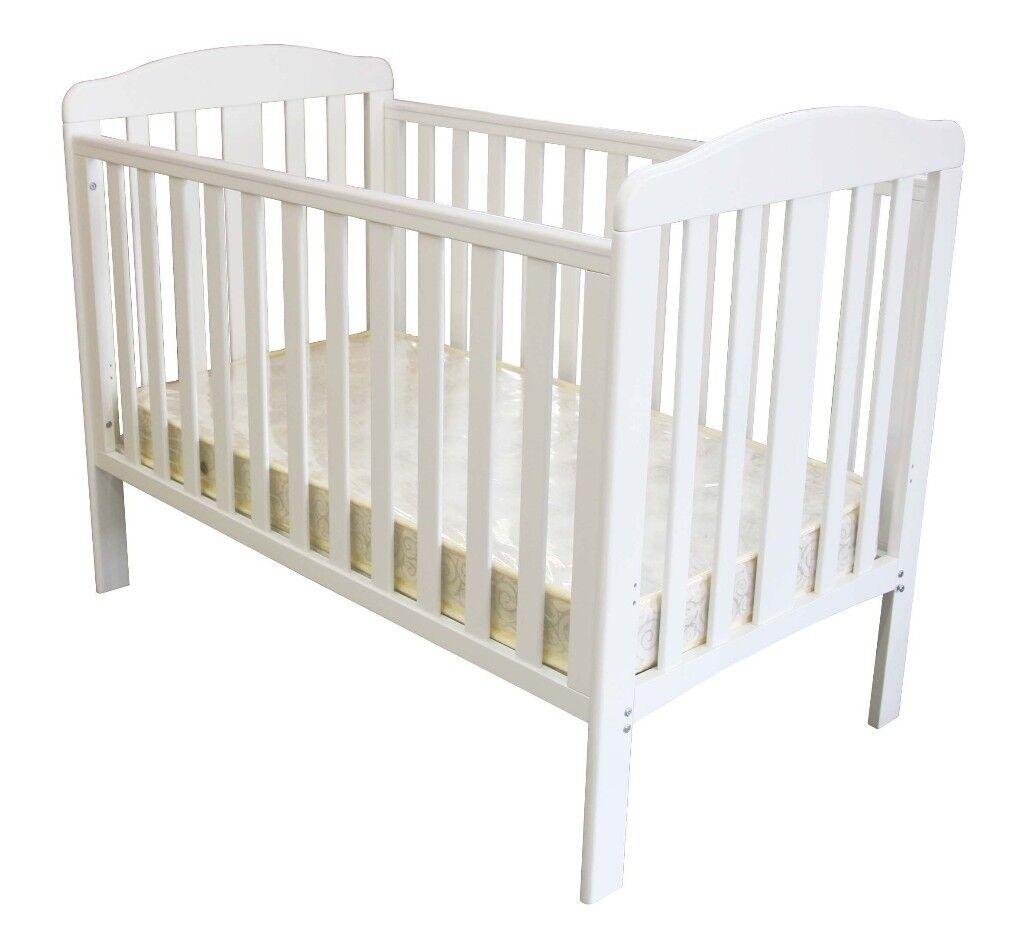 best loved d990a b0d28 White Babies R Us Cot | in Warwick, Warwickshire | Gumtree