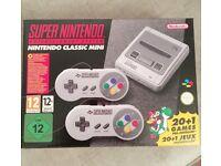 SNES Mini games console