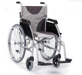 Wheelchair - Self Propelled Lightweight Aluminium