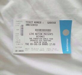 1 X Beyonce ticket @ Mancester 5th July