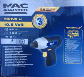 Mac allister cordless inpact driver