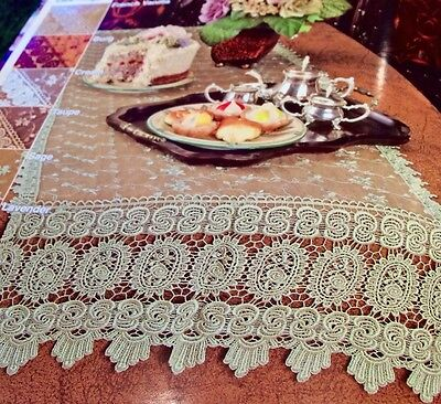 French Country Sage - French Country Rose with Macrame-19