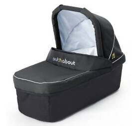 Out n About nipper double carrycot with double adaptor