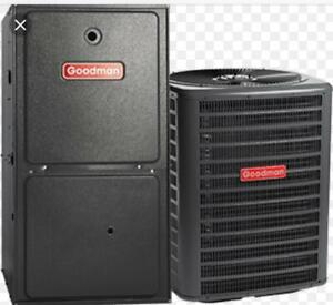 HIGH EFFICIENCY FURNACE & AIR Conditioner INSTALLATION CALL 9056164610