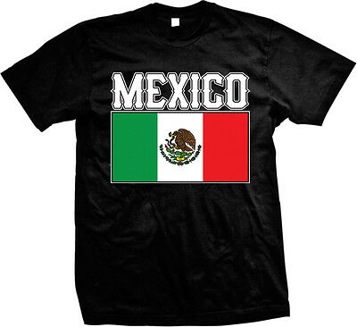 Bold Mexican Flag - Mexico Nationality Pride  Mens -