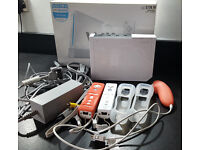 Nintendo Wii, Wii Fit Board, Controllers, Nunchuk & Games