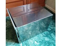 STAINLESS STEEL KITCHEN RECYCLING BIN UNUSED