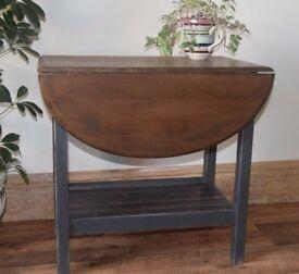 Small Drop Leaf Table - Vintage - Distressed