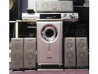 Panasonic SA-HT05 Surround Sound System - full 5.1 Dolby Digital Pro Logic 2 and DTS Surround.
