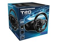 Thrustmaster T80 steering wheel and pedals for PS4 and PS3