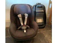 Maxi-Cosi Pearl Toddler Car Seat/ Group1, With Familyfix Isofix Base