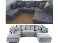 EXPRESS DELIVERY! LARGE ANCONA U-SHAPE CORNER SOFA | CASH ON DELIVERY | FINANCE AVAILABLE