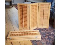 Wooden shutters for sale