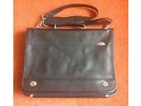 Briefcase....Samsonite, genuine leather