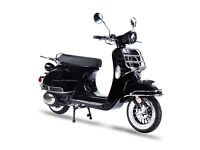 AJS MODENA 50CC SCOOTER, 50'S CLASSIC RETRO STYLE MOPED, NEW, FINANCE AVAILABLE 1 YEAR WARRANTY